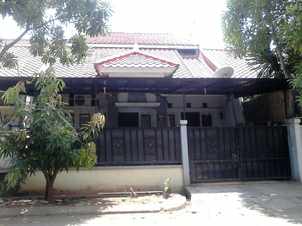 Rumah Dijual Siap Huni di Cluster Taman Sari, Harapan Indah, Bekasi Barat