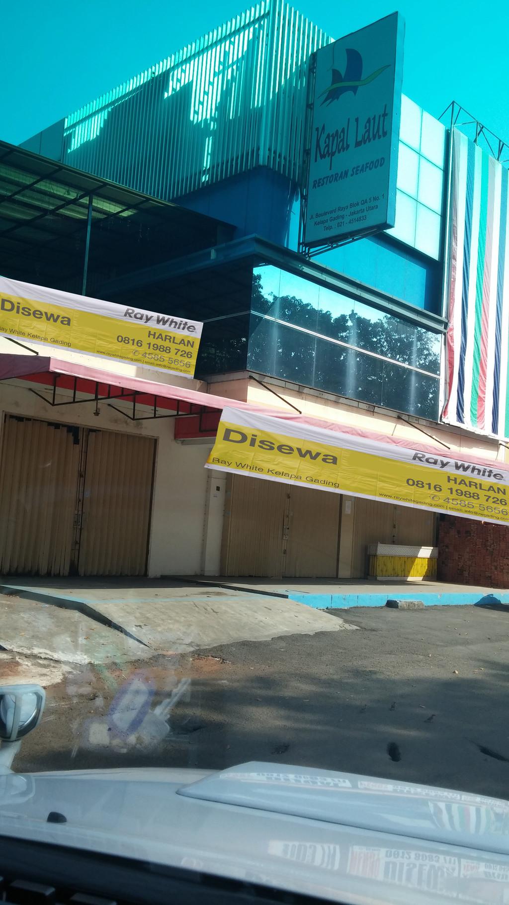 Disewakan Ruko Gandeng Boulevard Raya - Kelapa Gading