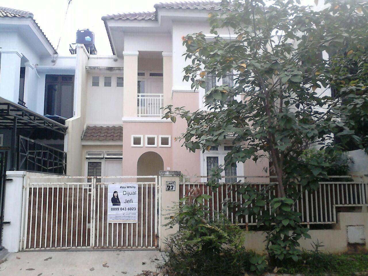 Rumah Dijual Siap Huni di Cluster Alamanda di MetLand, Cakung, Jakarta Timur