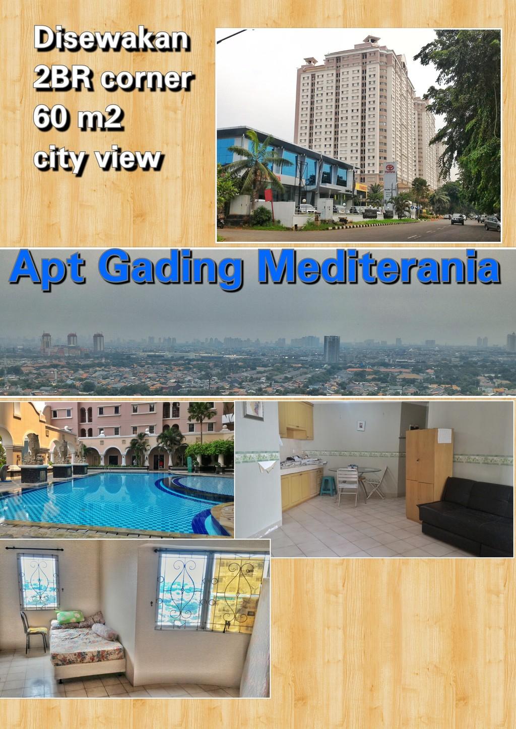Apartemen Gading Mediterania Residence-Kelapa Gading-Jakarta Utara
