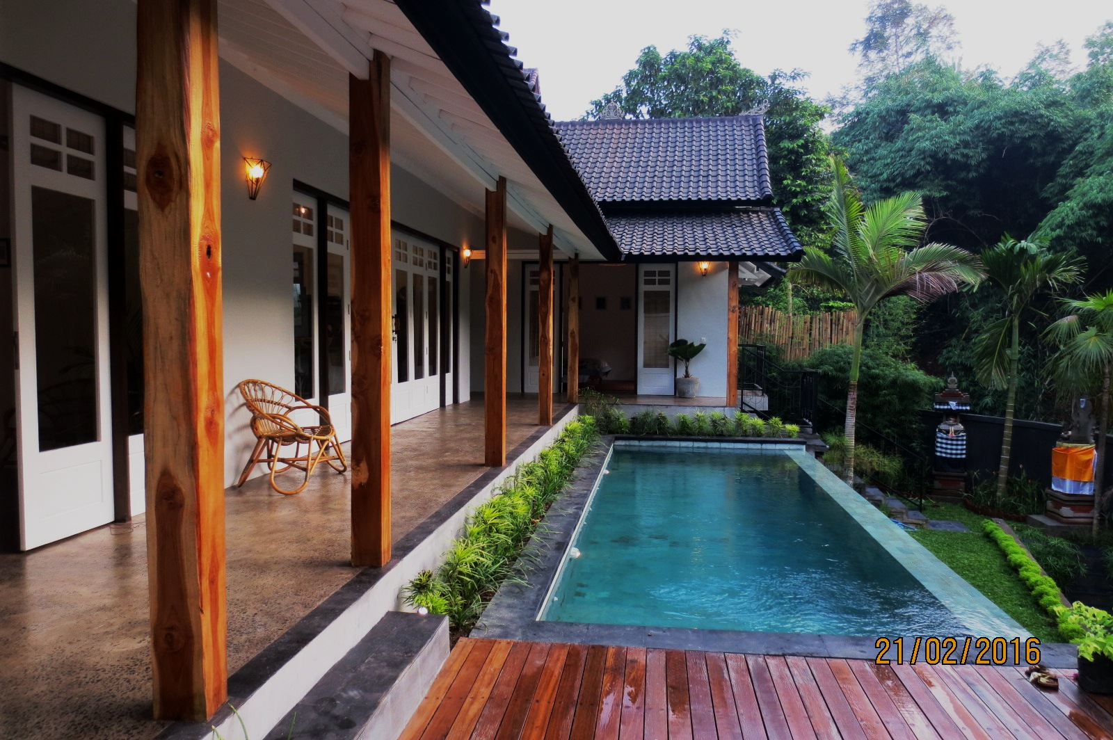 Brand New 2 Bedroom Villa for Sale on 400 sq m of Leasehold Land 5 Minutes From Ubud Center