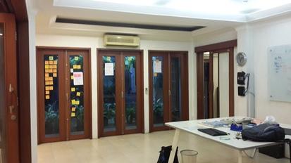 Rumah siap huni, cocok kantor dan disewakan, bangunan asri
