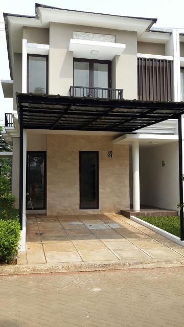 Rumah baru di jual cepat di Cluster Orange Cassana , Citra Lake Sawangan, Depok