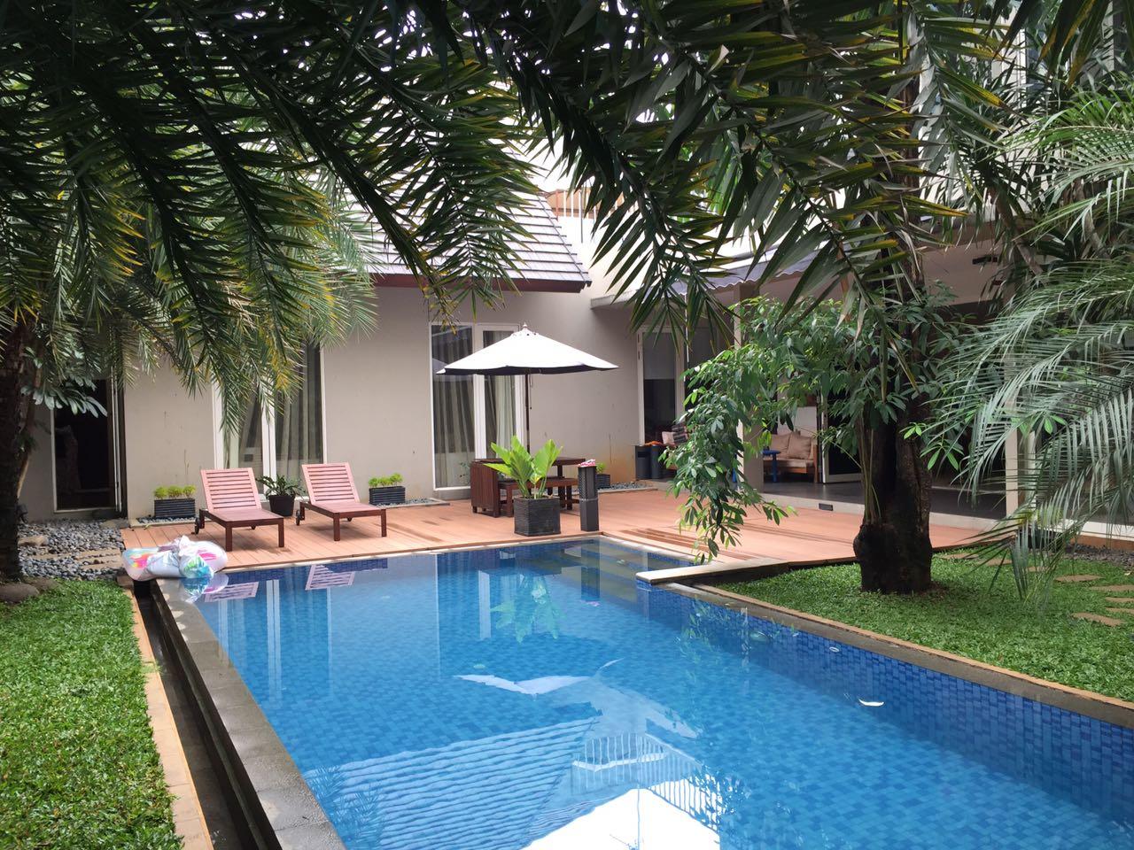Rumah Nuansa Resort di Cipete Area