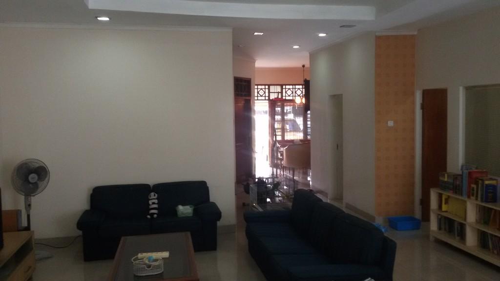 Dijual rumah indah dan asri eksklusif di Taman Bougenville, Caman, Jatibening