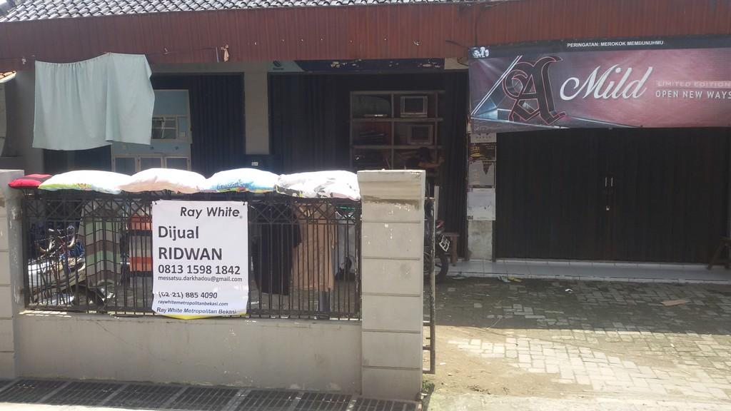 Dijual lahan kontrakkan dan ruko untuk investasi di Rawalumbu Bekasi