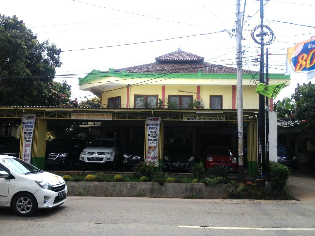 Dijual Show Room Plus Rumah dan Mess Pegawai di Bekasi
