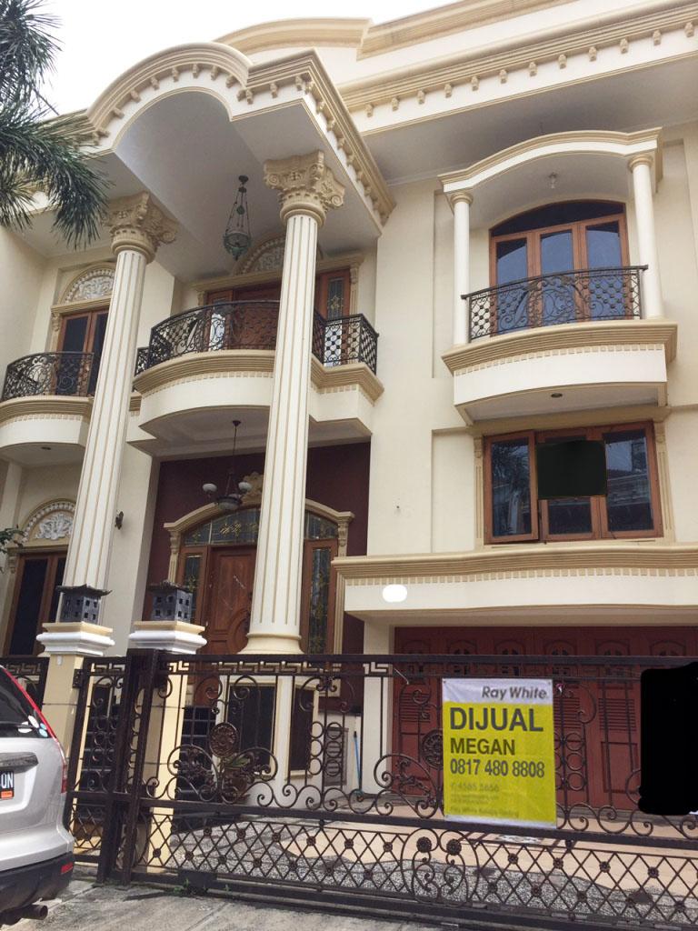 Rumah di Jual Bukit Gading Mediterania-Kelapa Gading-Jakarta Utara