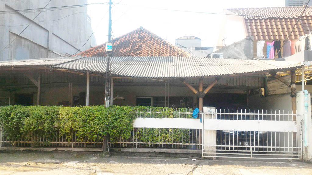 Rumah di Jual Jl Kapuas, Cideng, Jakarta Barat