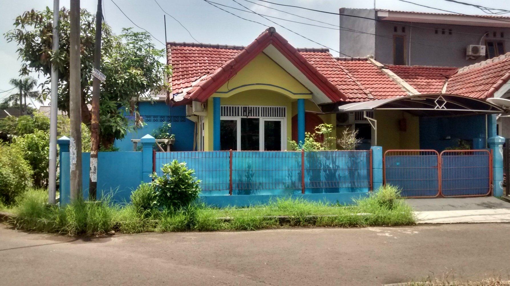 Rumah Dijual Bekasi Depan Taman di Prima Harapan Regency