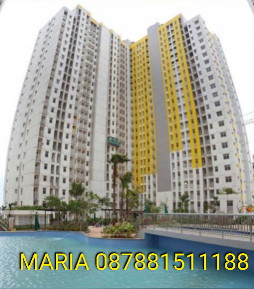 SEWA cepat APARTEMEN BARU Springlake Summarecon Bekasi view Lake & City