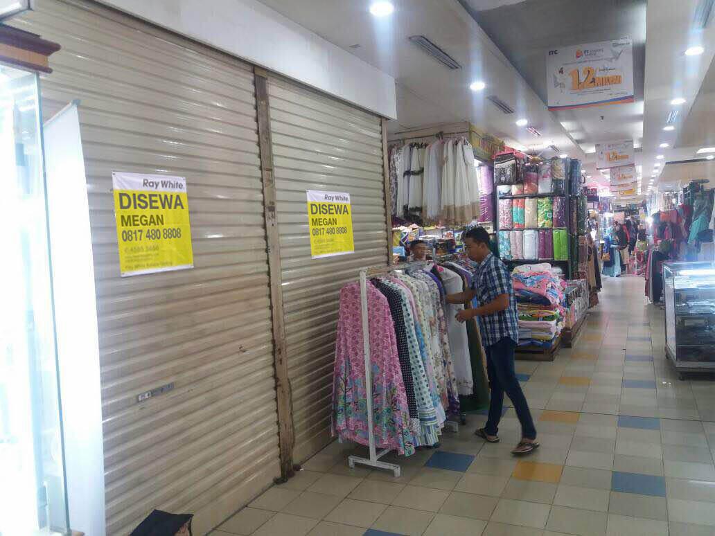 Kios di Sewa Cempaka Mas-Jakarta Pusat