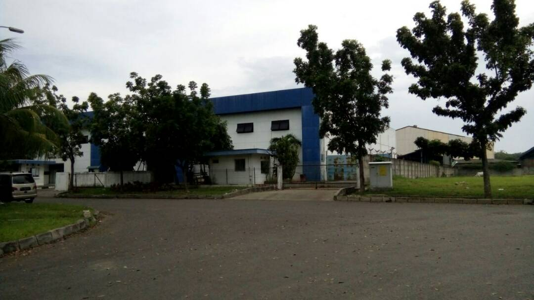 Ex Pabrik di Kawasan Industri Jababeka Cikarang
