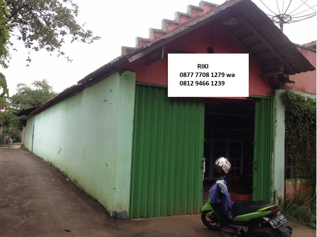 Dijual Rumah berikut Gudang dan Kontrakan di Pedurenan Bekasi Timur