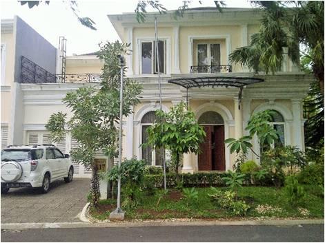 Rumah Nyaman dan Luas di Les Belles Mansion Serpong
