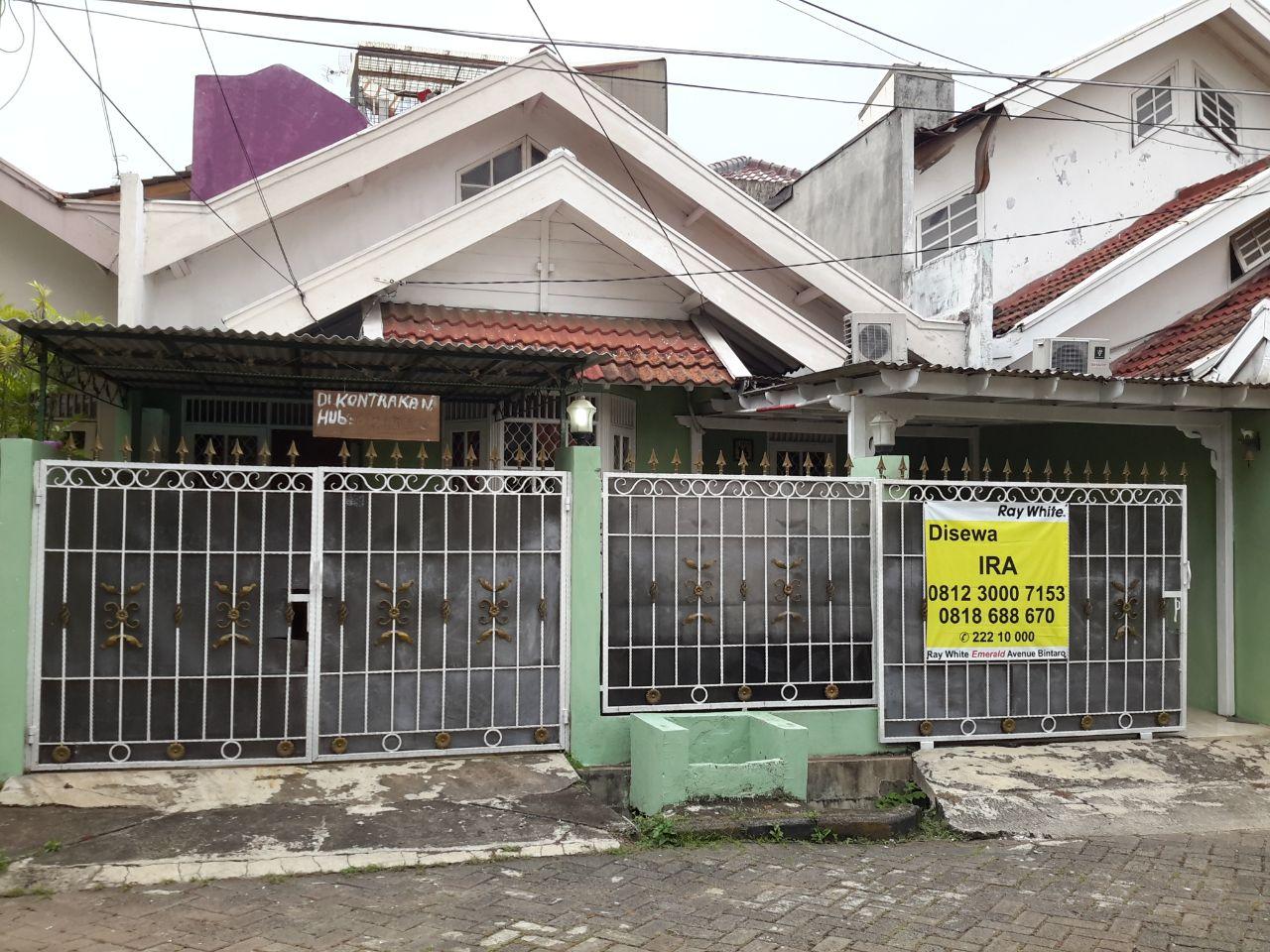 TURUN HARGA !!!! Rumah Nyaman dan Siap Huni di Kawasan Perkici, Bintaro Jaya