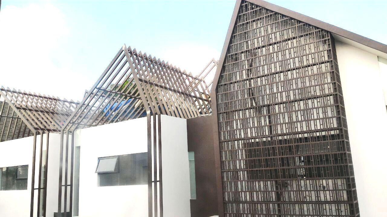 Rumah Modern Minimalis Di Bangka 3 Jakarta selatan