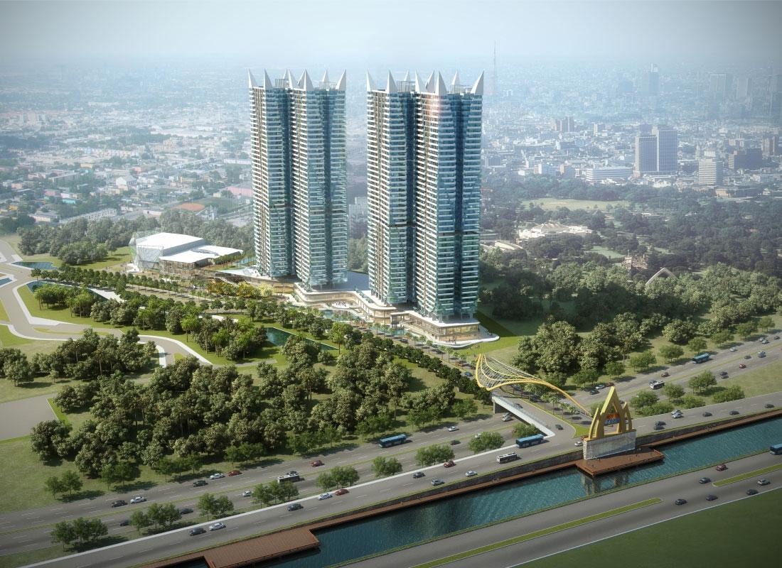 Apartemen Grand Kamala Lagoon Tower Emerald North