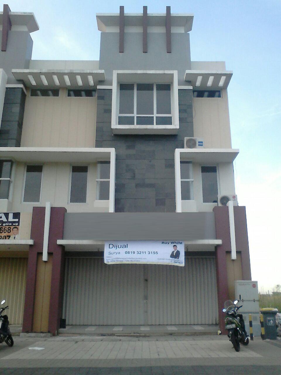Dijual Ruko Commercial Park, Kota Harapan Indah, Bekasi Barat