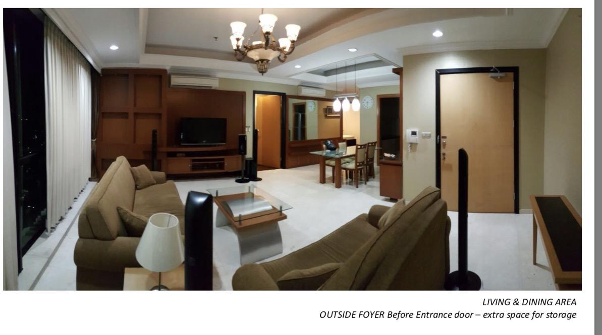 Apartment disewakan di Setiabudi Residence 3 bedroom