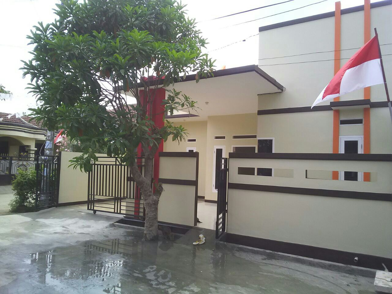 Hoek ,Rumah Baru Rumah dijual di Villa Mutiara Gading ,Bekasi Utara ,Bekasi