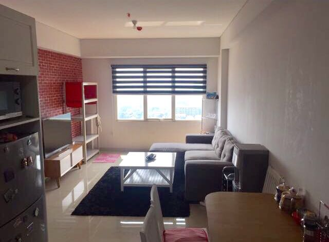DI JUAL BRAND NEW APARTMENT FULLY FURNISHED AT ASPEN RESIDENCE NEXT TO ONE BELLPARK MALL.