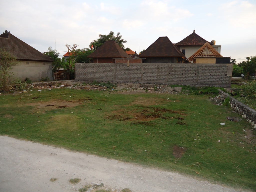 Freehold Land 900 sqm in Sanur For House or Villa Close to The Beach