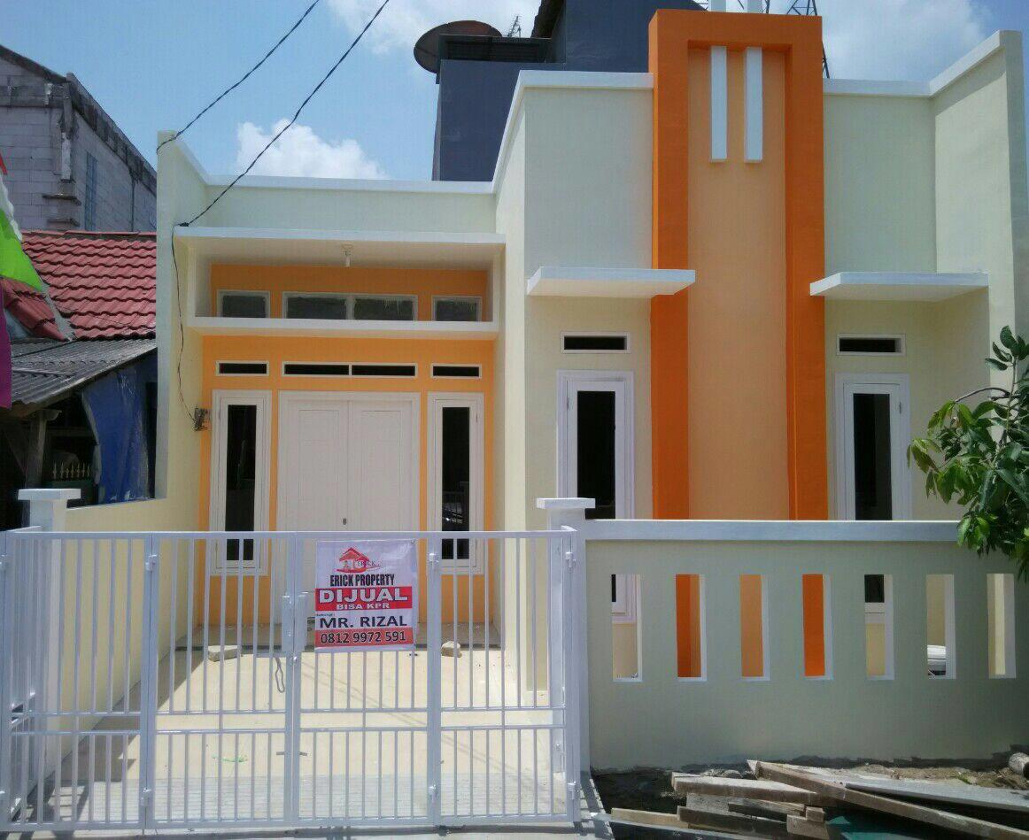 rumah baru renovasi siap huni 1 lantai cantik di vila mutiara gading 2 blok w babelan  bekasi jawa barat