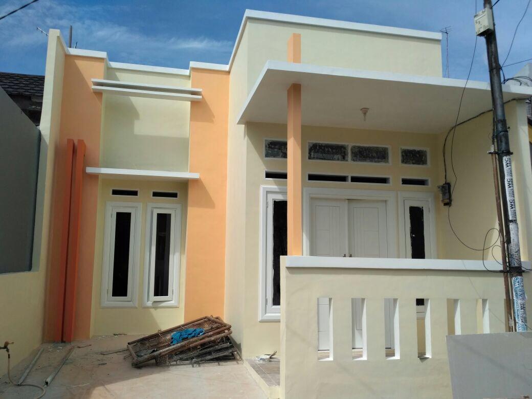 rumah baru renovasi siap huni 1 lantai cantik di bintang metropole dekat sumarecon  bekasi jawa barat