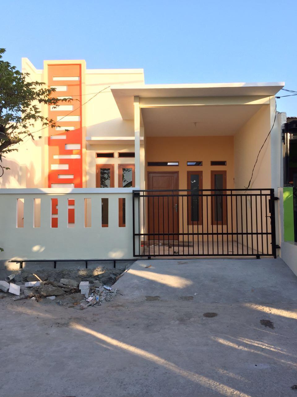 rumah baru renovasi siap huni 1 lantai cantik di vila gading harapan blok al3 babelan  bekasi jawa barat