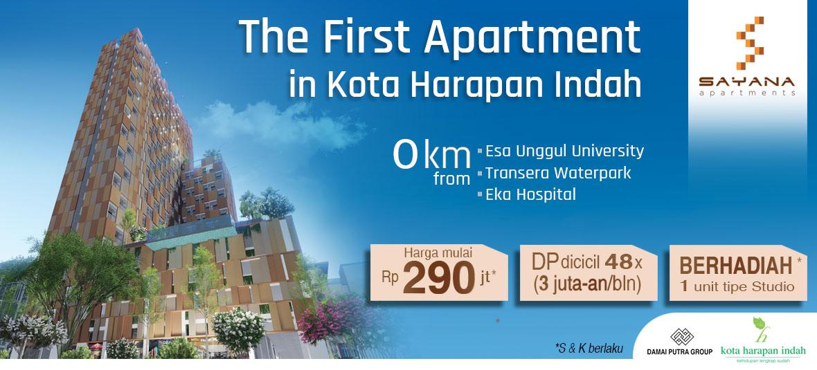 HOT SALE : Sayana Apartment @ Harapan Indah Bekasi