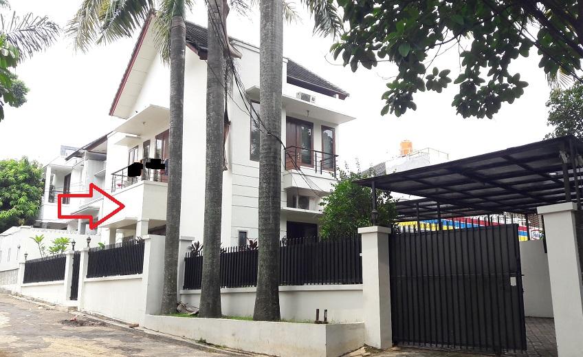 Rumah di Kebagusan Raya, Di Hoek, 3 KT, SHM, Luas Tanah 220 m2