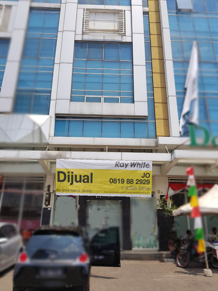 Ruko di Jual Graha Parkview-Boulevard Timur Raya ZD-Kelapa Gading-Jakarta Utara