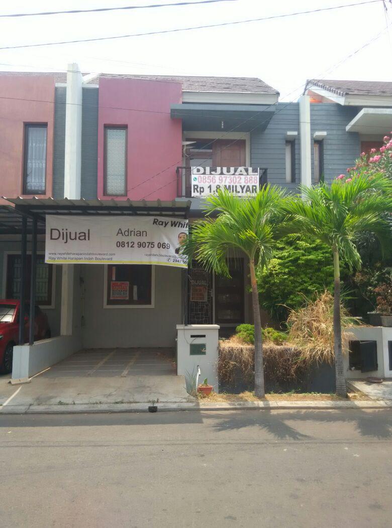 Rumah dijual murah di Cluster Harmony , Harapan Indah Bekasi