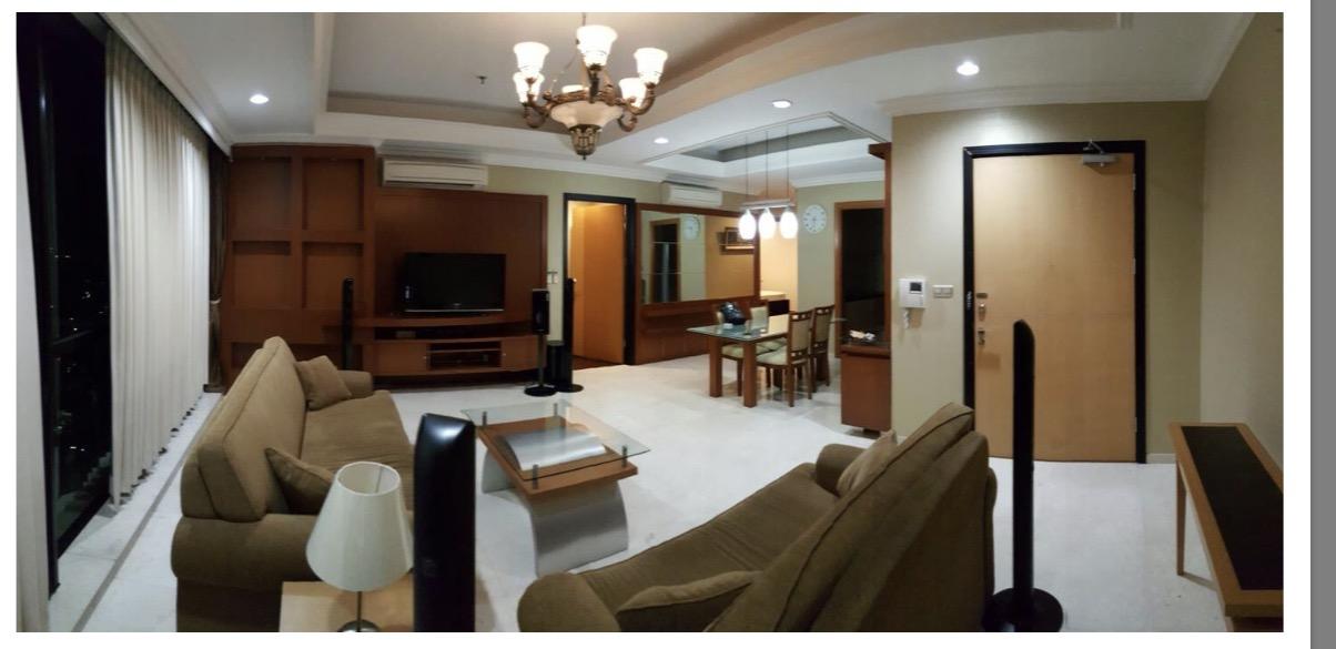 Setiabudi Residence 3 bdr + 2 bathroom , unit bagus