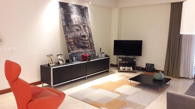 Apartemen 2 Bedrooms di Daksa Residence, Senopati; Dekat SCBD; Semi Furnished; Luas 149 m2