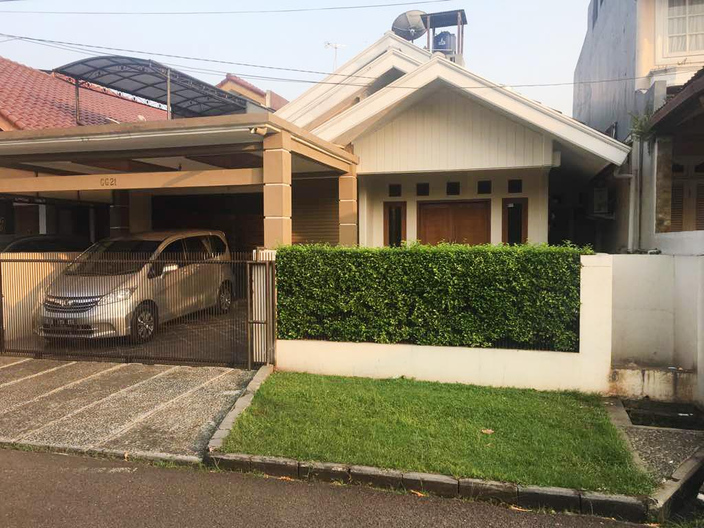Rumah Nyaman dan Siap Huni di Kawasan Bintaro Permai, Bintaro-Jaksel