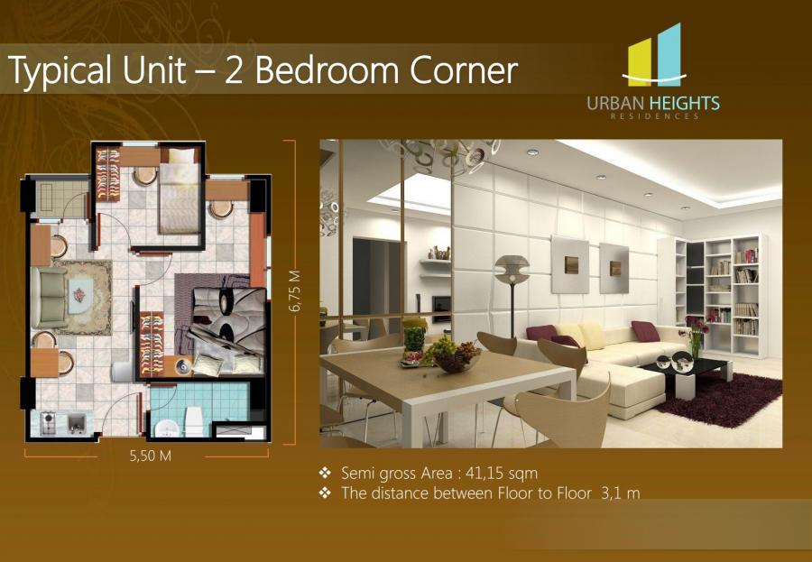 Dijual Apartemen aman, Nyaman, dan Siap Huni @Apartemen Urban Height, BSD