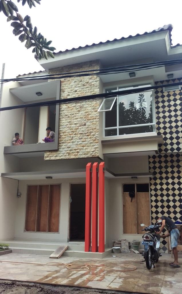 Rumah Teduh Dengan Desain Minimalis 2 Lantai di Ciganjur Jakarta Selatan