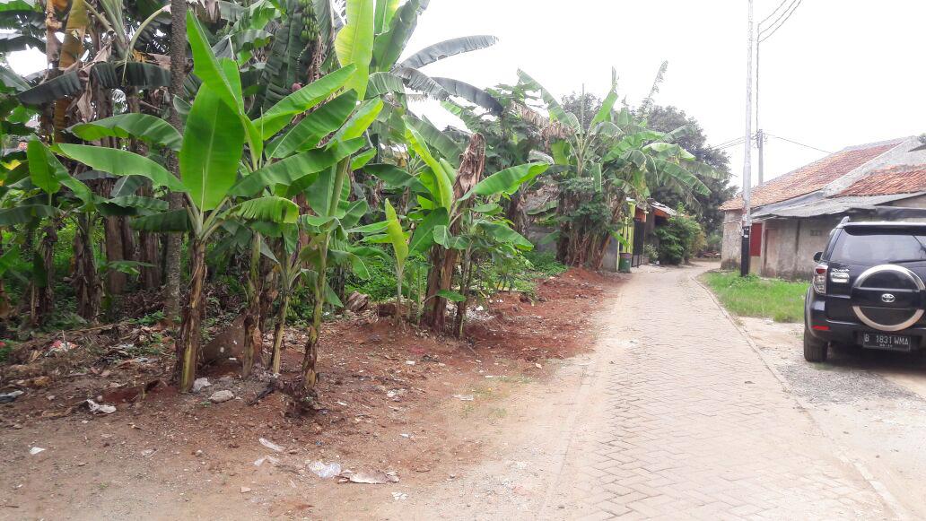 Dijual Tanah kavling, luas, lokasi sangat strategis @Jl H. Cari, kaisar Bintaro, Pondok Aren