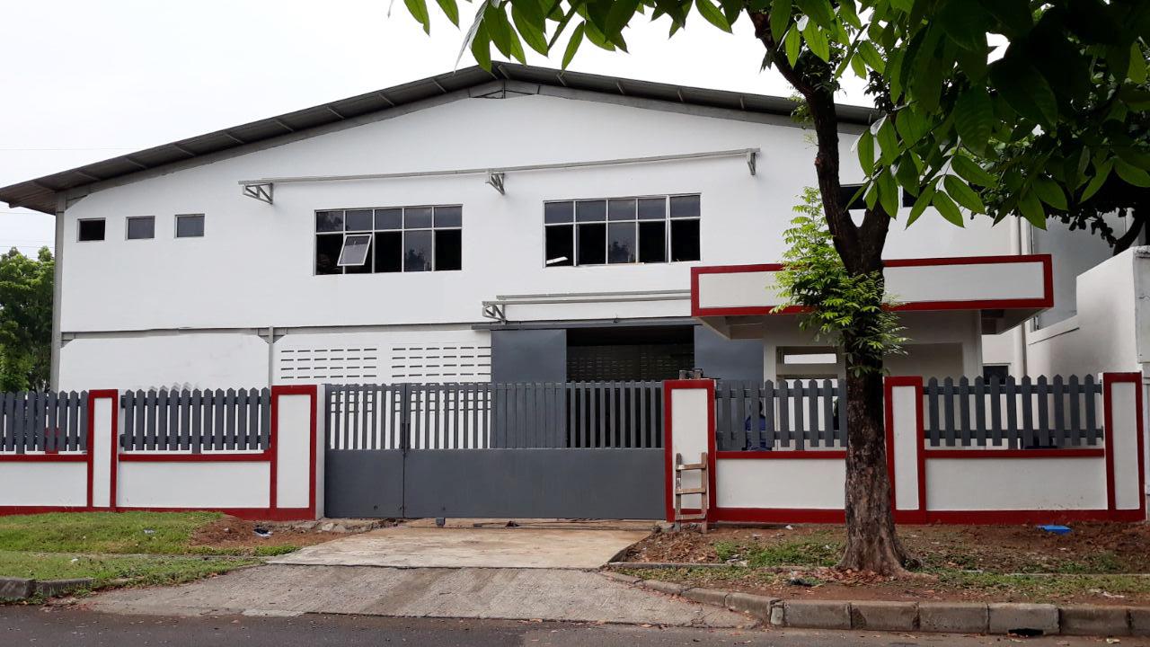 Gudang Siap Pakai dijual di Kawasan Industri Jababeka I, Cikarang, Jawa Barat