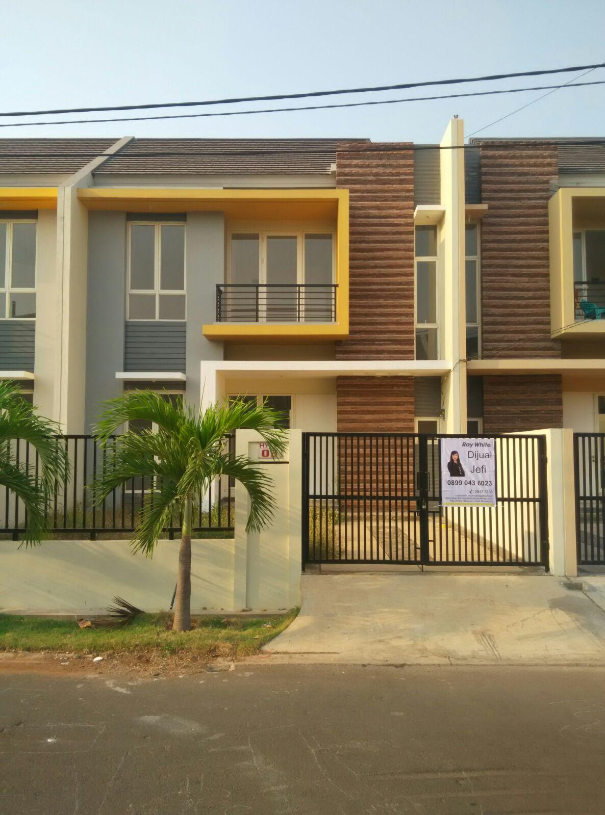 Rumah 2 Lantai Baru Bagus di Cluster Ifolia, Harapan Indah, Bekasi Barat