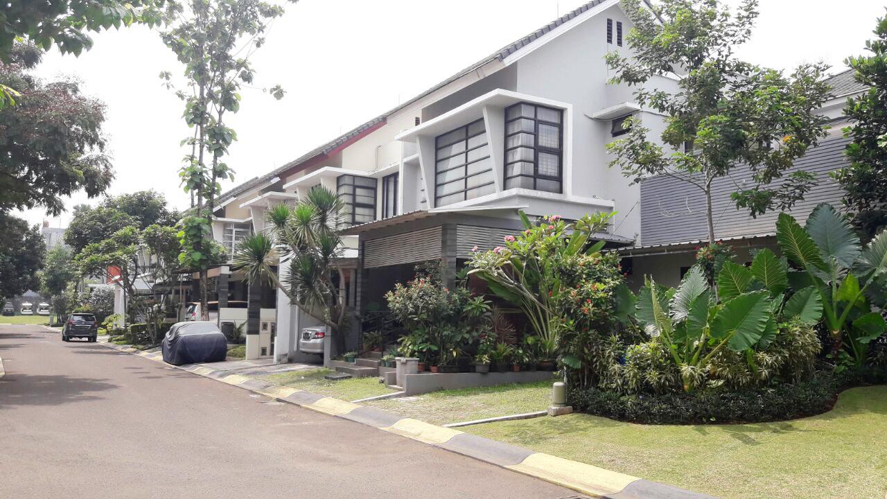 Rumah dijual nyaman, aman, akses lokasi sangat strategis @Emerald Residence, Bintaro