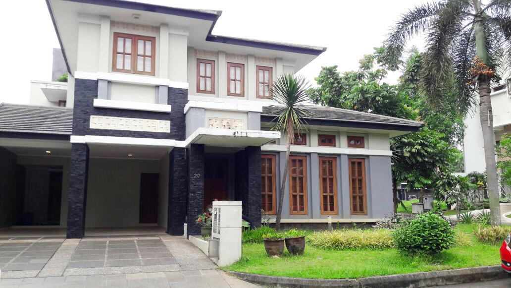 Disewakan Rumah Nyaman, Aman, Furnished dan siap huni @Menteng Utama, Bintaro