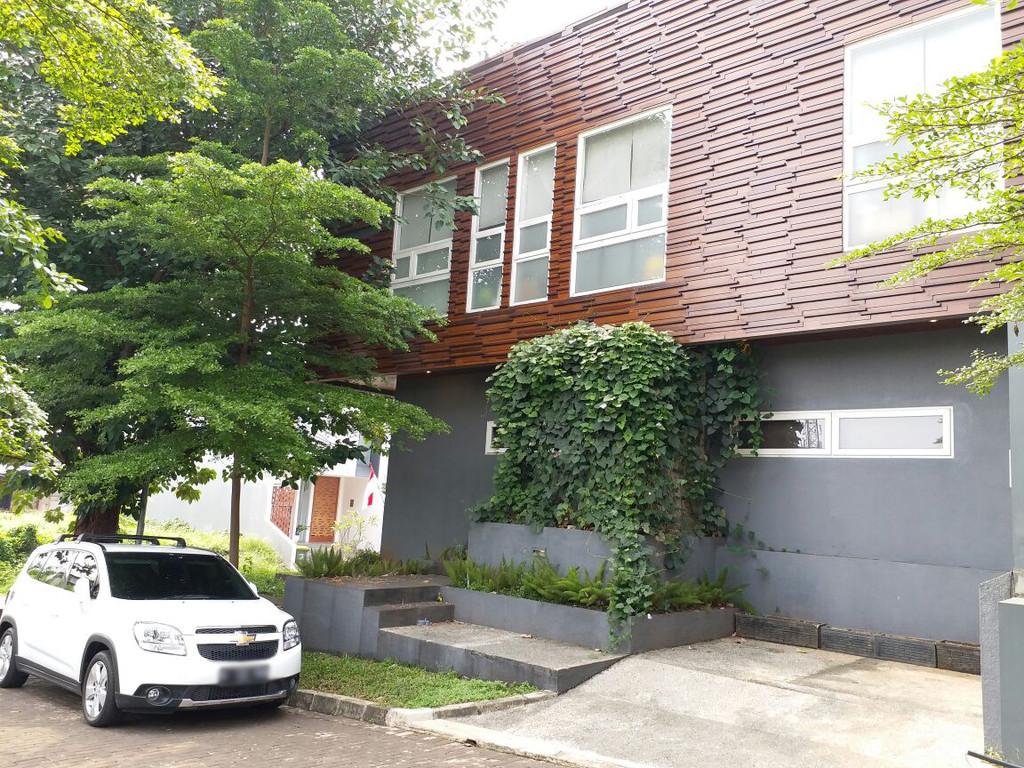 Rumah dijual nyaman, aman, akses lokasi sangat strategis @Ozone Residence, Bintaro Jaksel