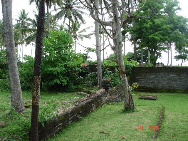2850m2 of beachfront Freehold land in Pekutatan.