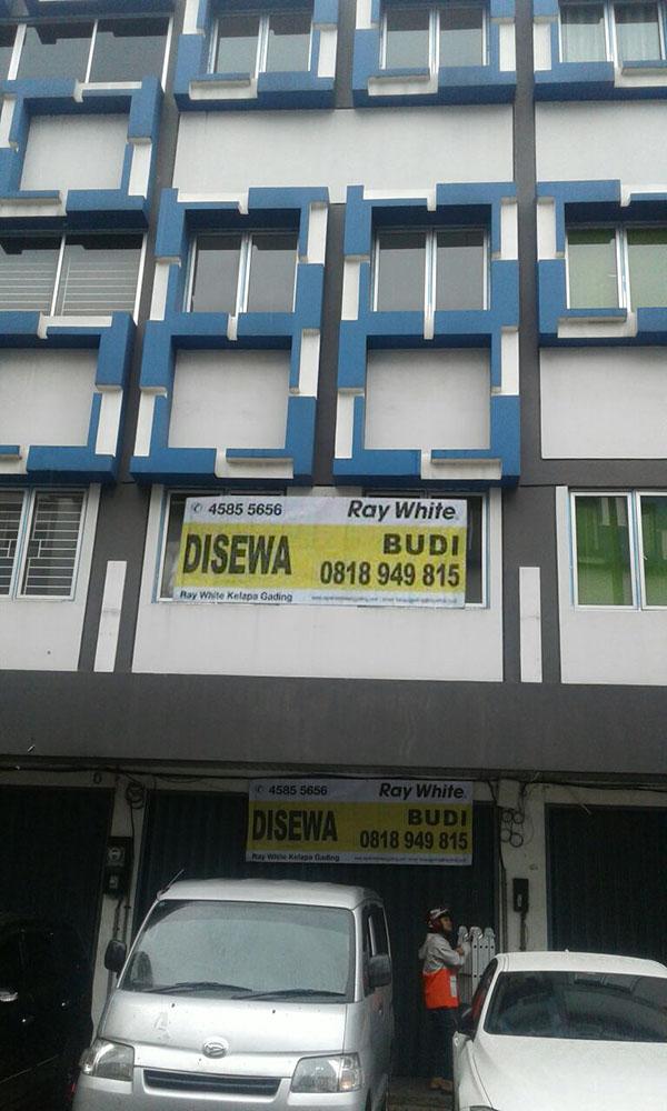 Ruko di Sewa Bukit Gading Indah-Kelapa Gading-Jakarta Utara