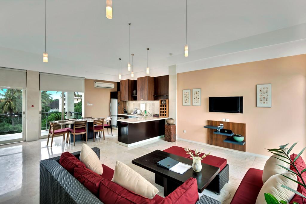 Beach Front 2 Bedroom Penthouse Apartment in Seminyak