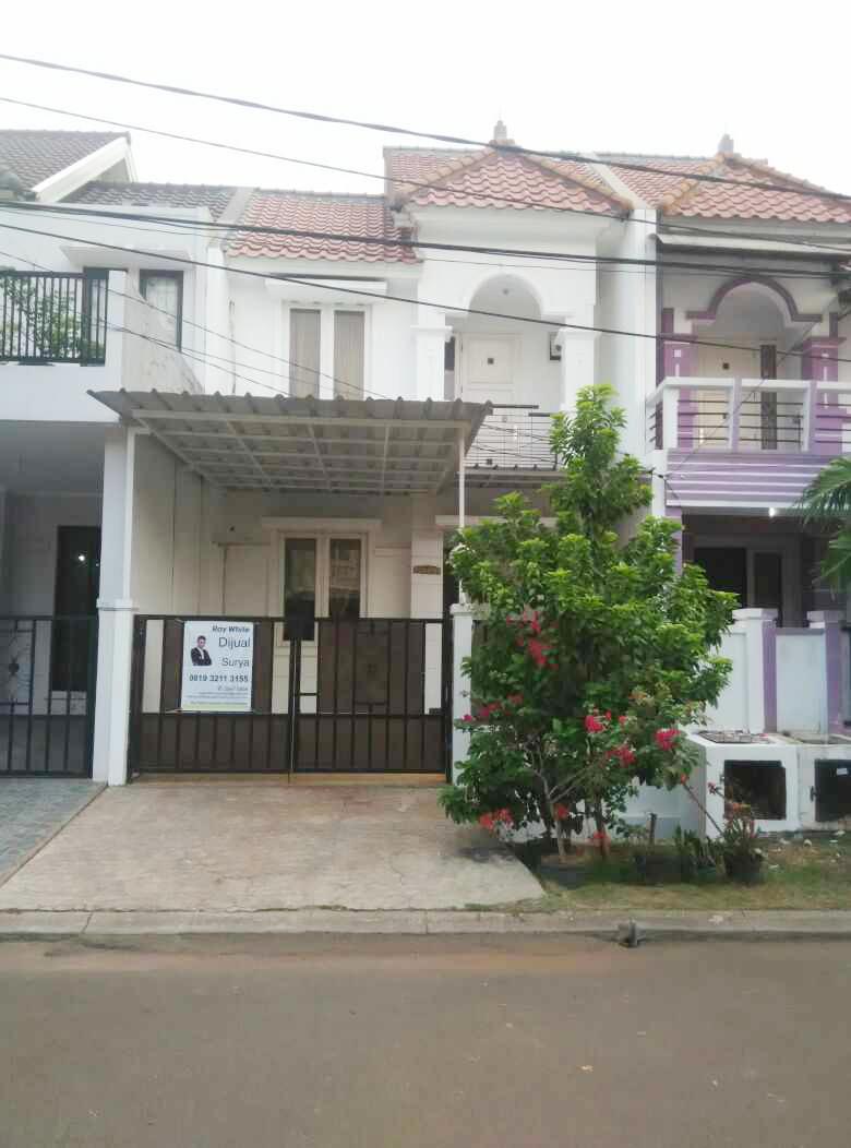 Disewakan Rumah di Cluster Taman Puspa, Harapan Indah, Bekasi