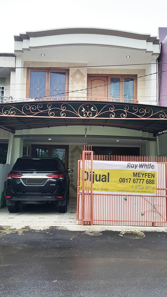 Rumah di Jual Janur Asri-Kelapa Gading-Jakarta Utara